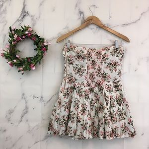 Tracy Feith Dresses - Tracy Feith for Target Floral Strapless Mini Dress